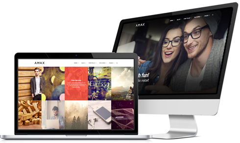 Amax WordPress Theme